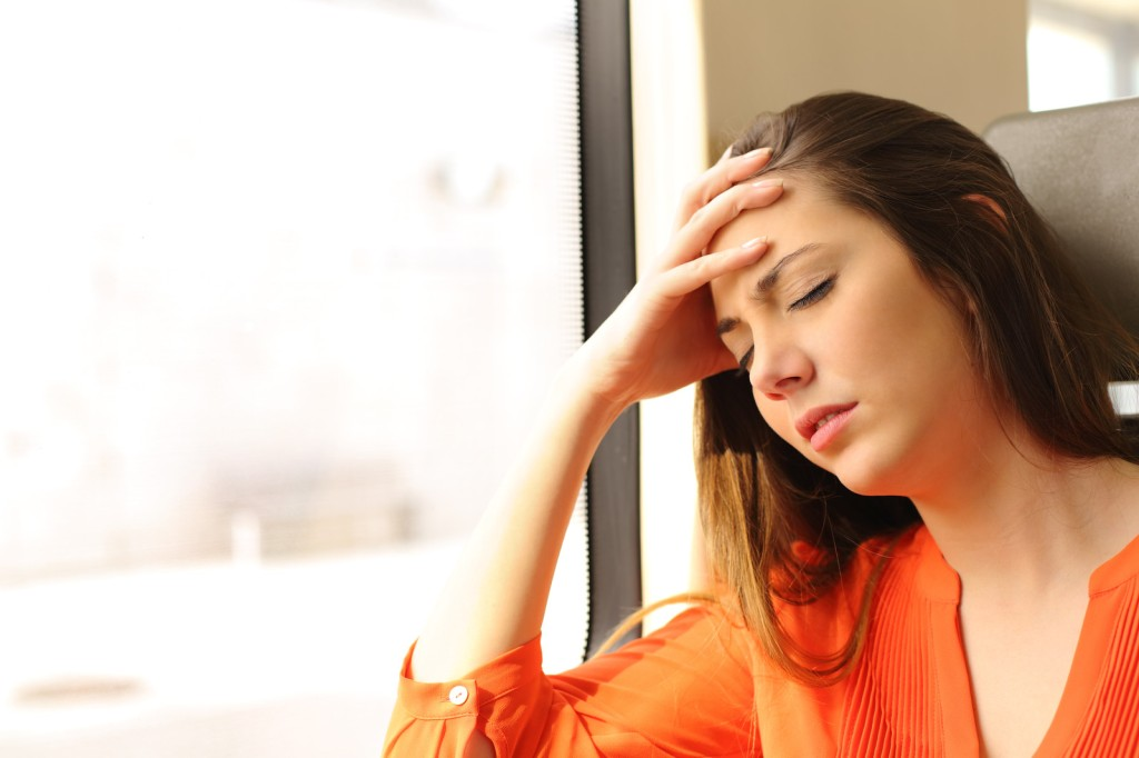 woman tired all the time with chronic fatigue